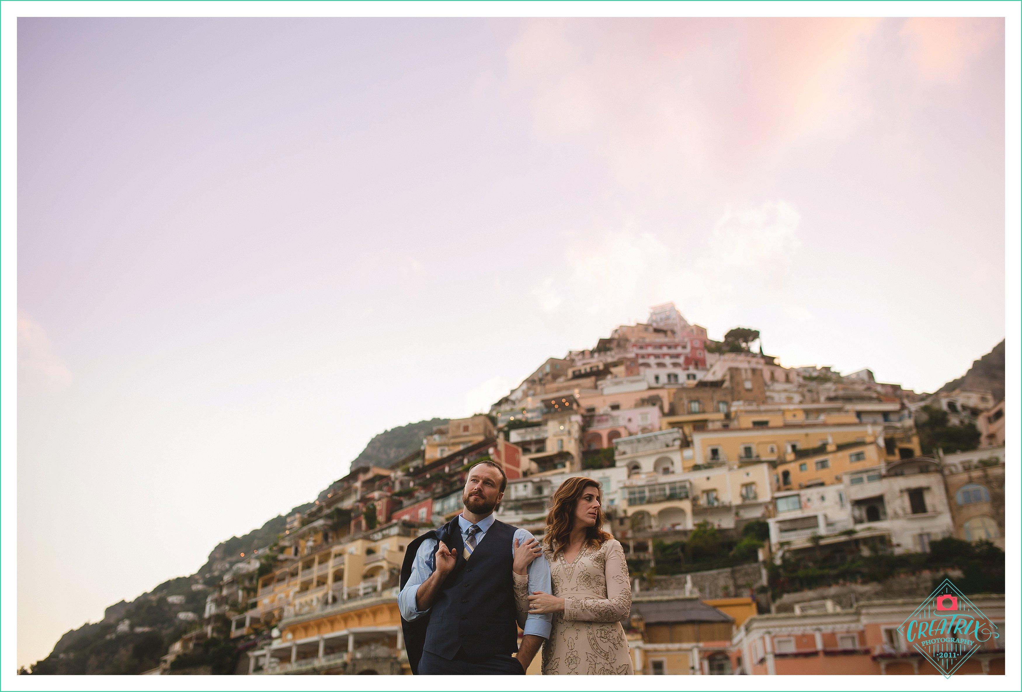 Andrea and Scott // Positano Elopement Photographer