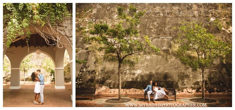 Old San Juan Engagement Session