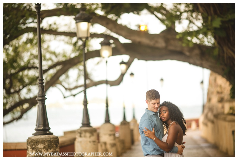Old San Juan Engagement Session