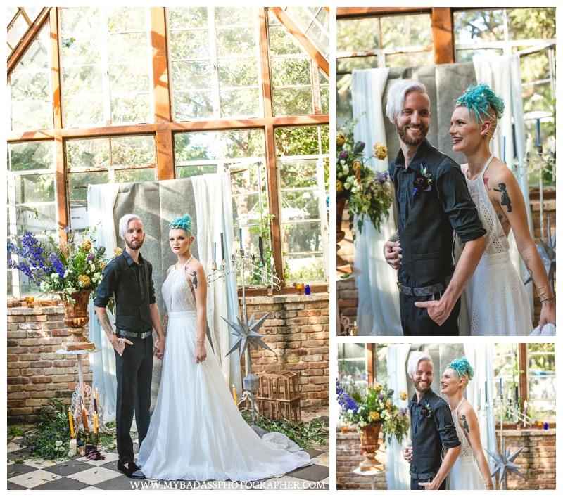 Sekrit Theatre Wedding in Austin
