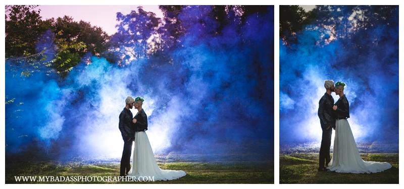 Celestial Themed Wedding