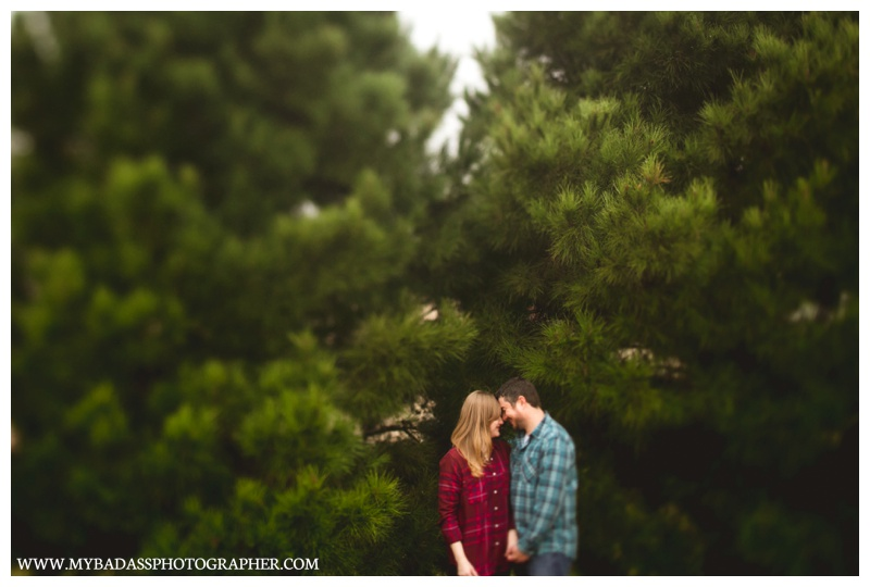 Kasey & Neil // A foggy Marfa Portrait Session