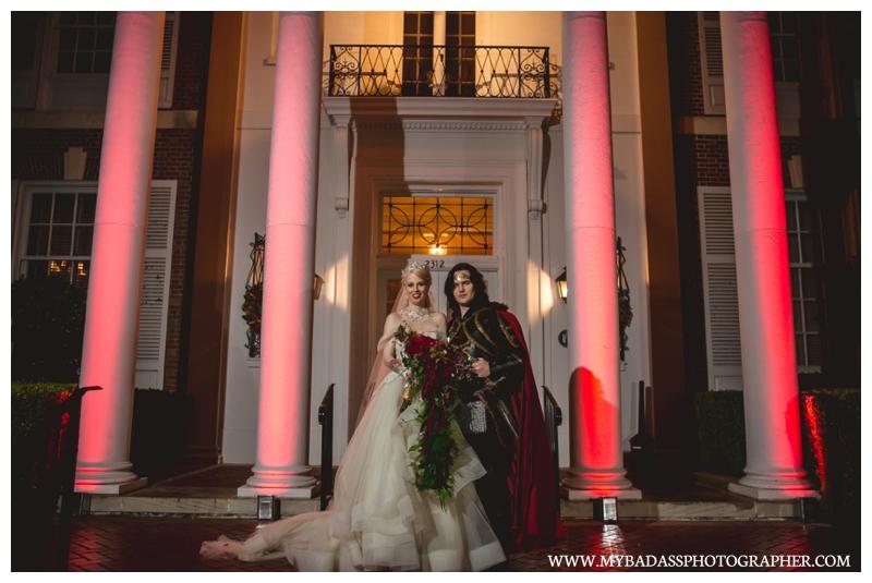 red wedding inspiration