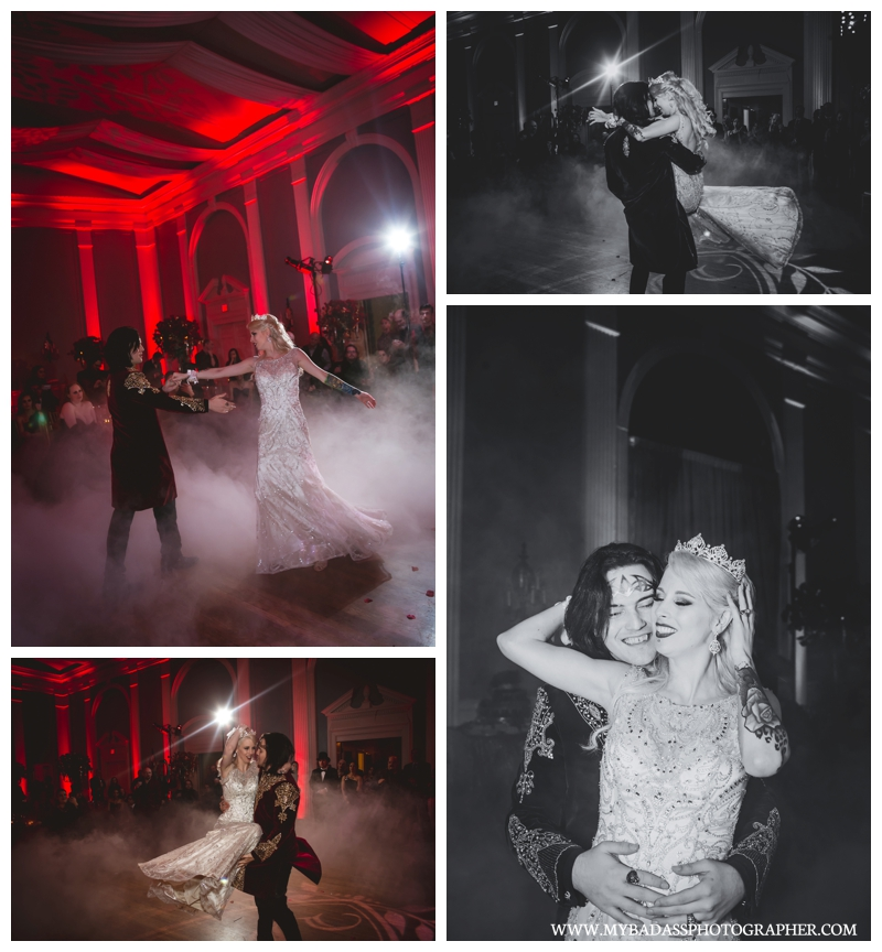 Dracula Wedding Inspiration
