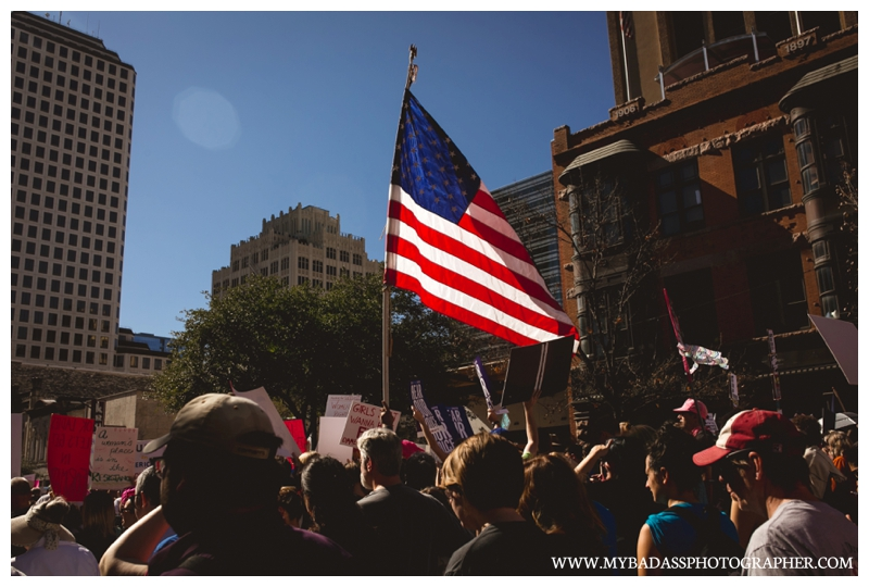 Women's March in Austin