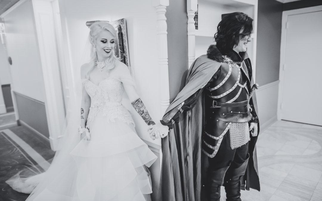 Daley & Logan // Vampire Wedding Part Two