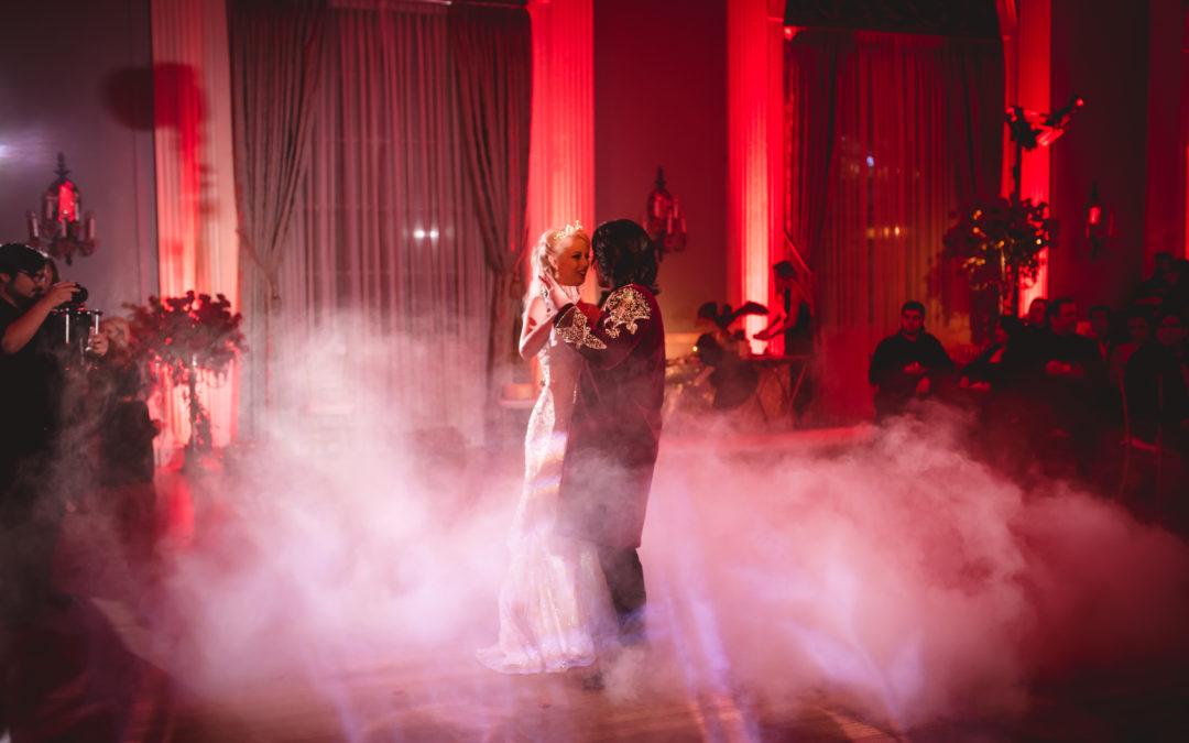 Daley & Logan // Dracula Wedding Inspiration