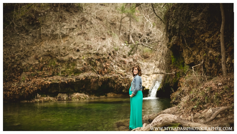 Pedernales Falls Maternity Session