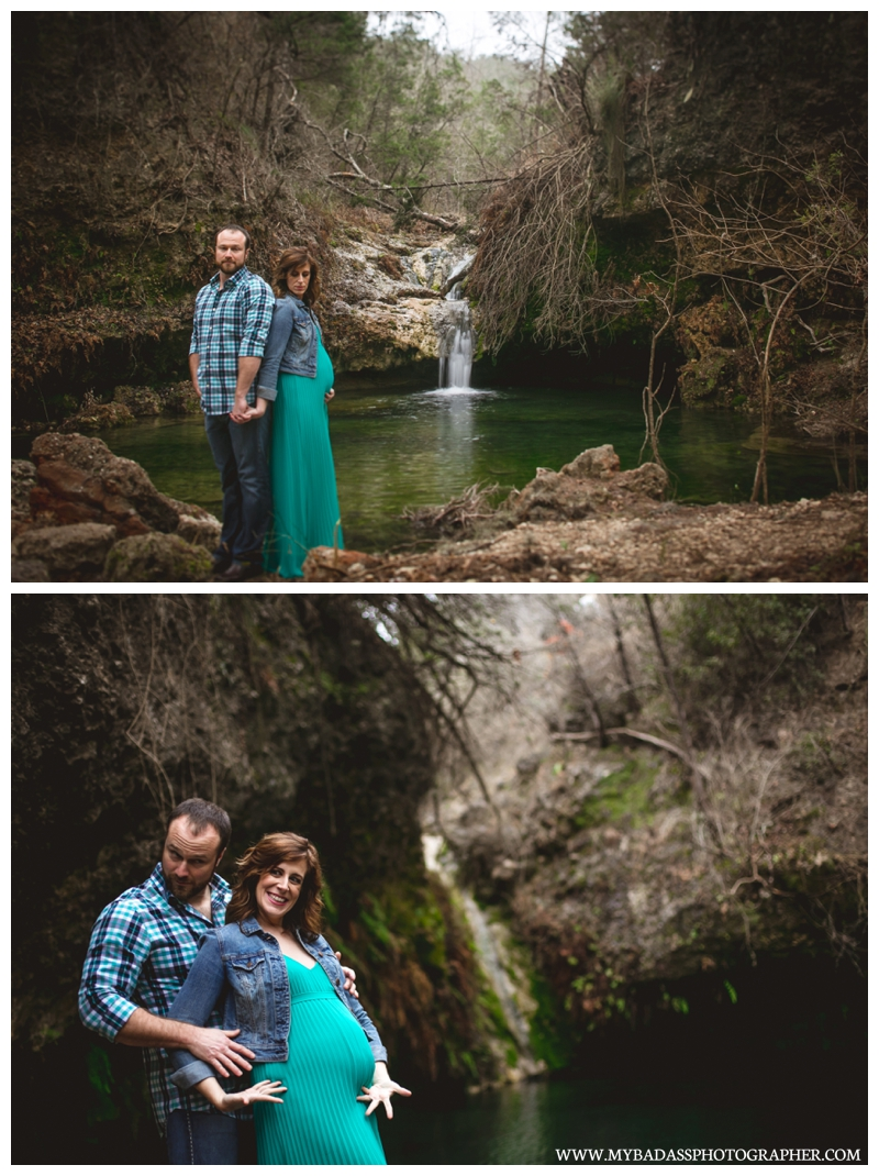 Pedernales Falls Maternity Session