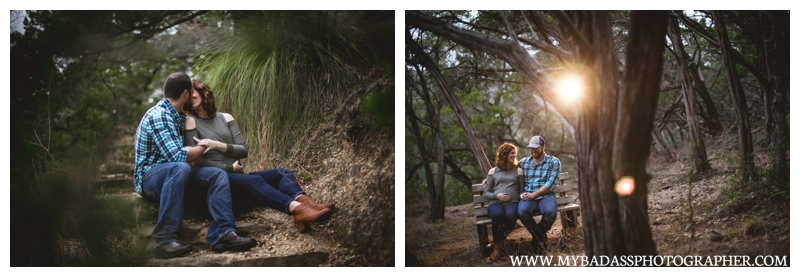 Perdernales Falls Maternity Session