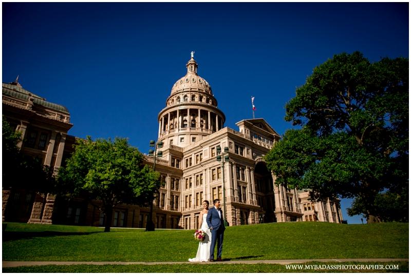Anna & Jeremy // Austin Capitol Wedding