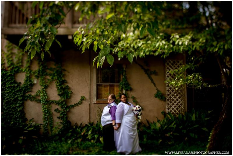 Denise & Joyce // Christmas in July Wedding