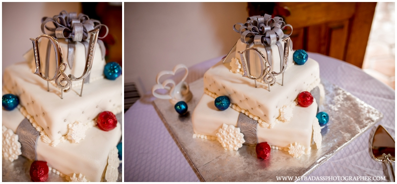 Christmas in July Wedding