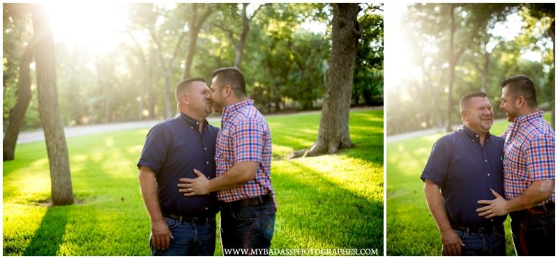 lgbt gay couple cuddling at casa blanca