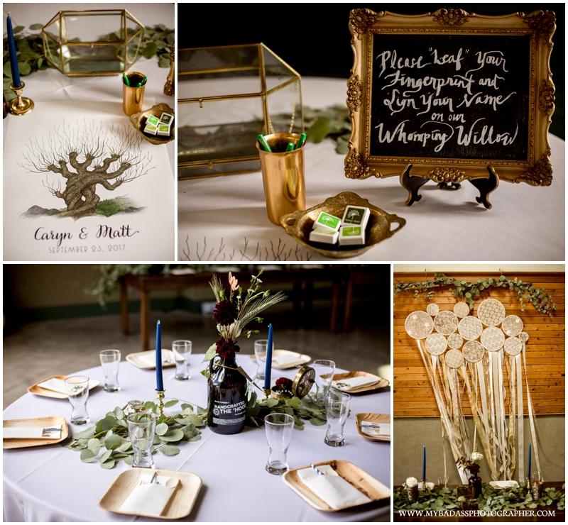 harry potter inspired wedding Inspiring Oaks Ranch Wedding