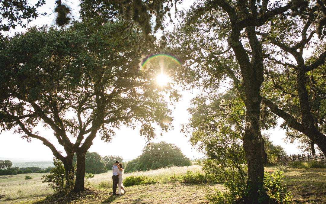 Caryn & Matt // Inspired Oaks Wedding
