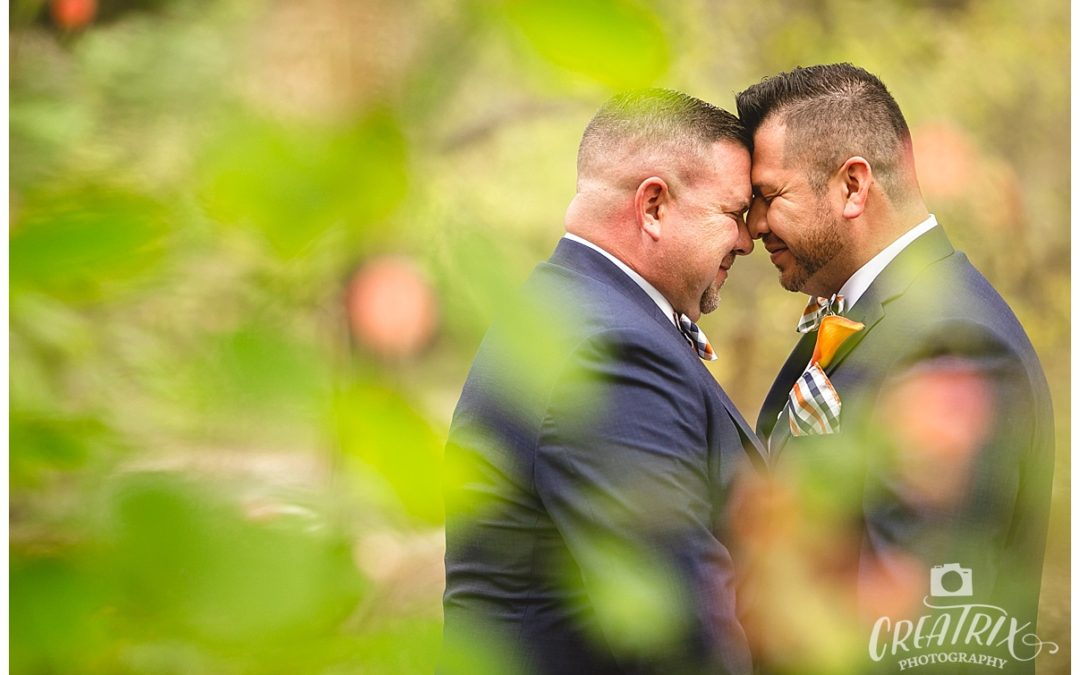 Jason and Eric // Casa Blanca LGBT Wedding