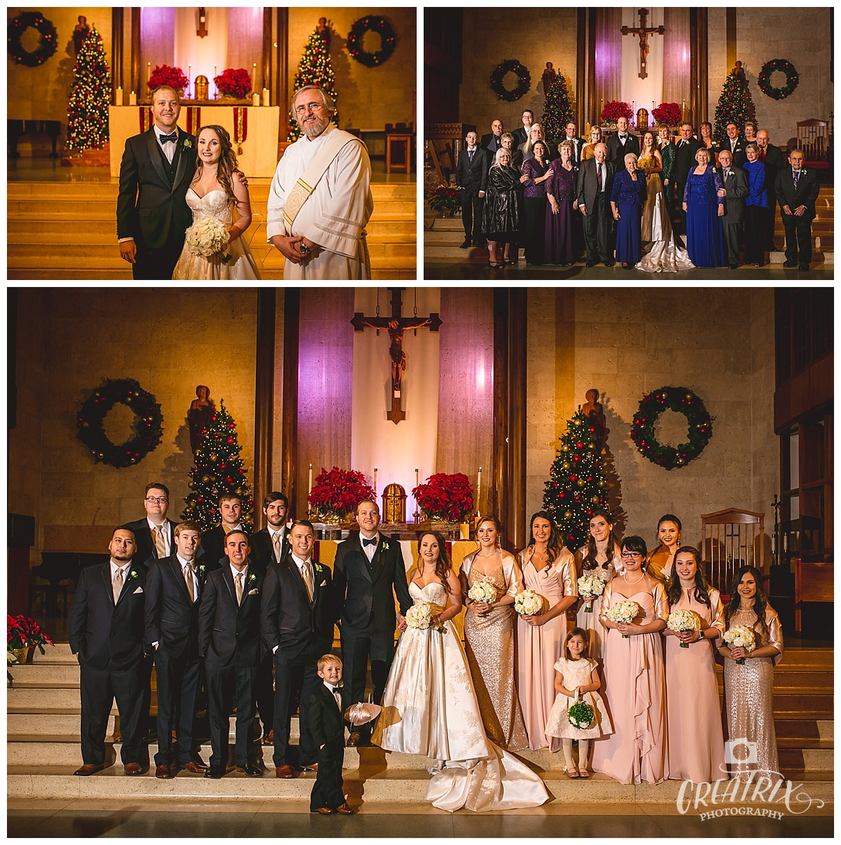 Brazos Hall Wedding