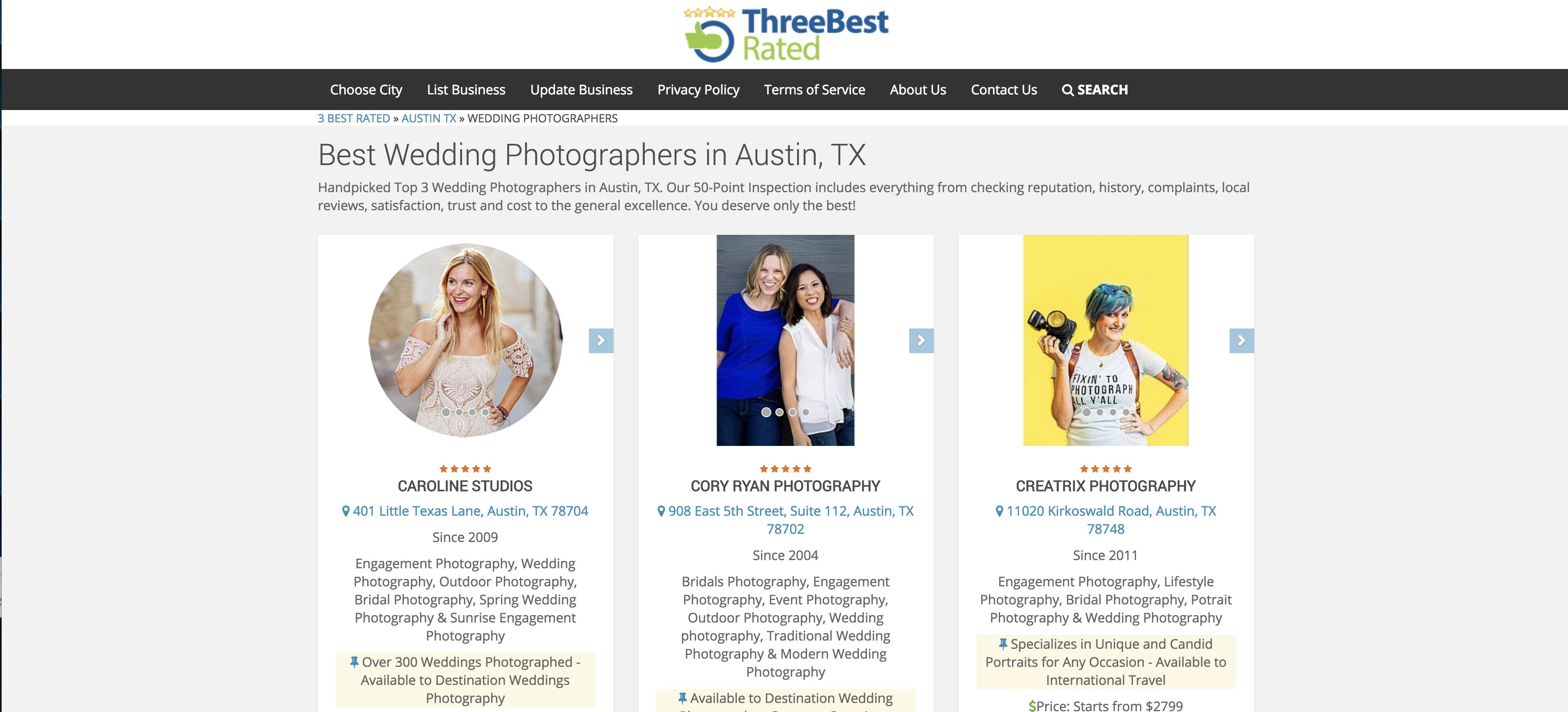 top photographer in austin