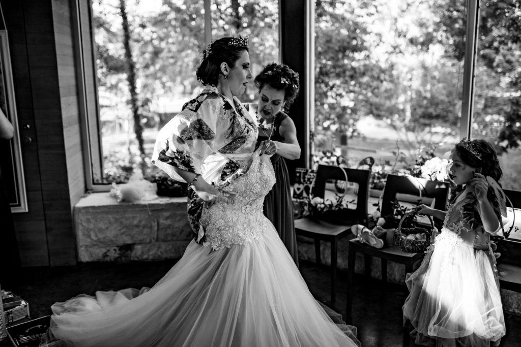 Umlauf Sculpture Garden Wedding