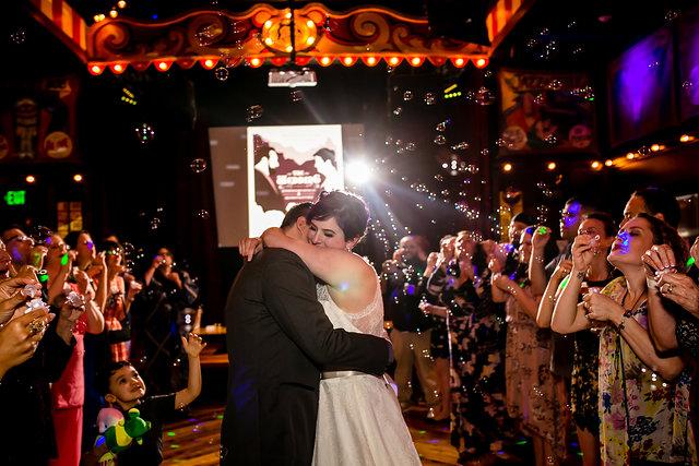 Alamo Drafthouse Wedding