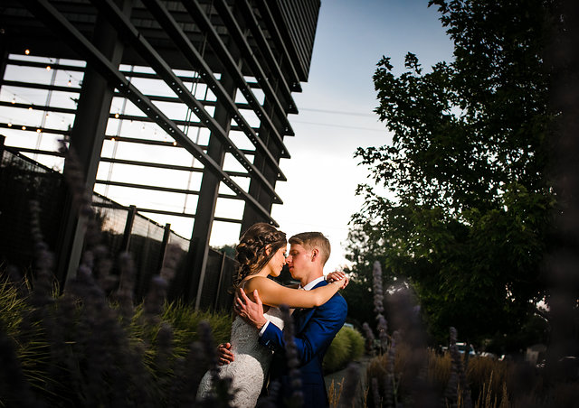 Danielle and Kyle // SPACE Art Gallery Wedding