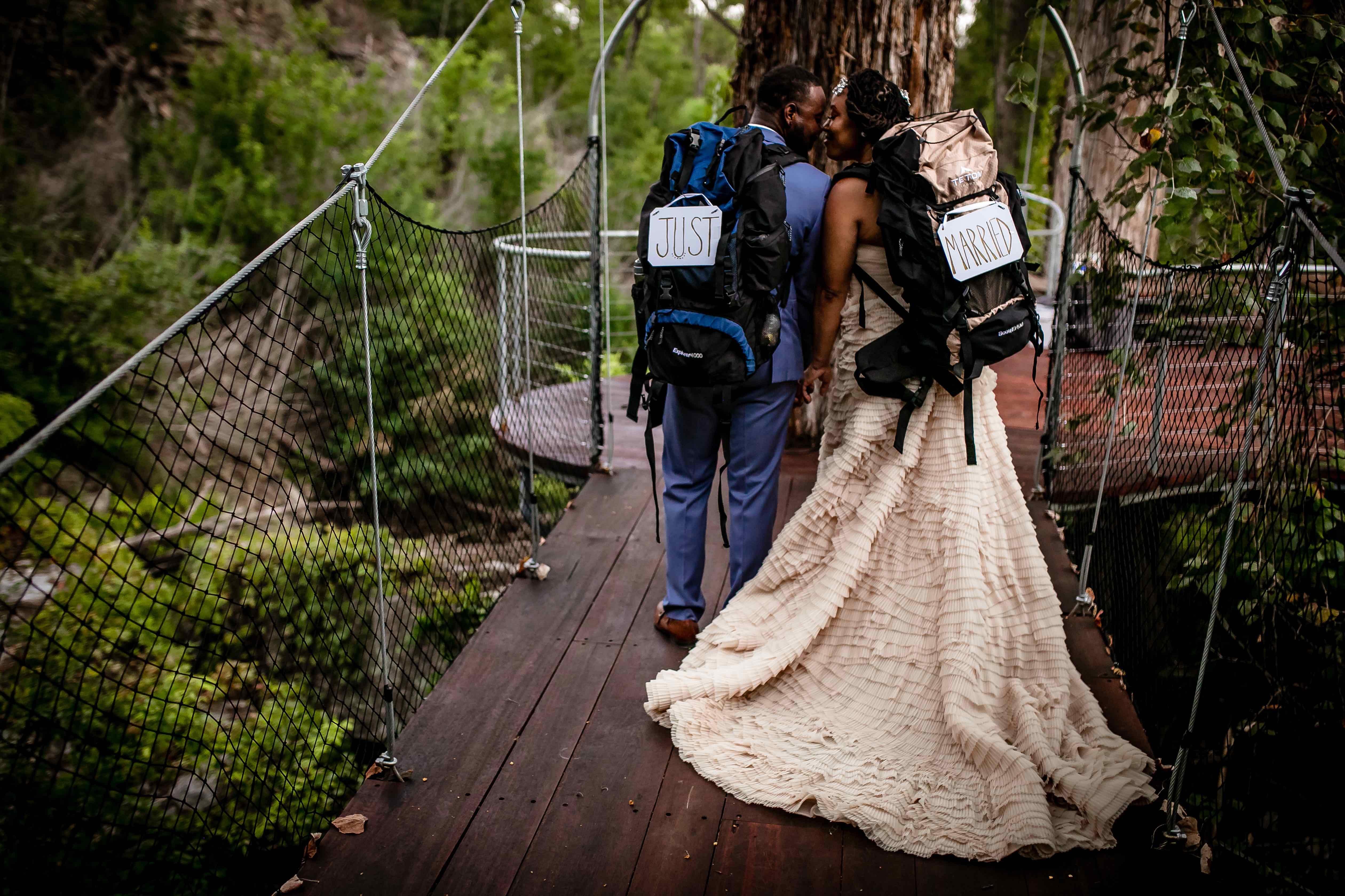 Cypress Valley Canopy Wedding