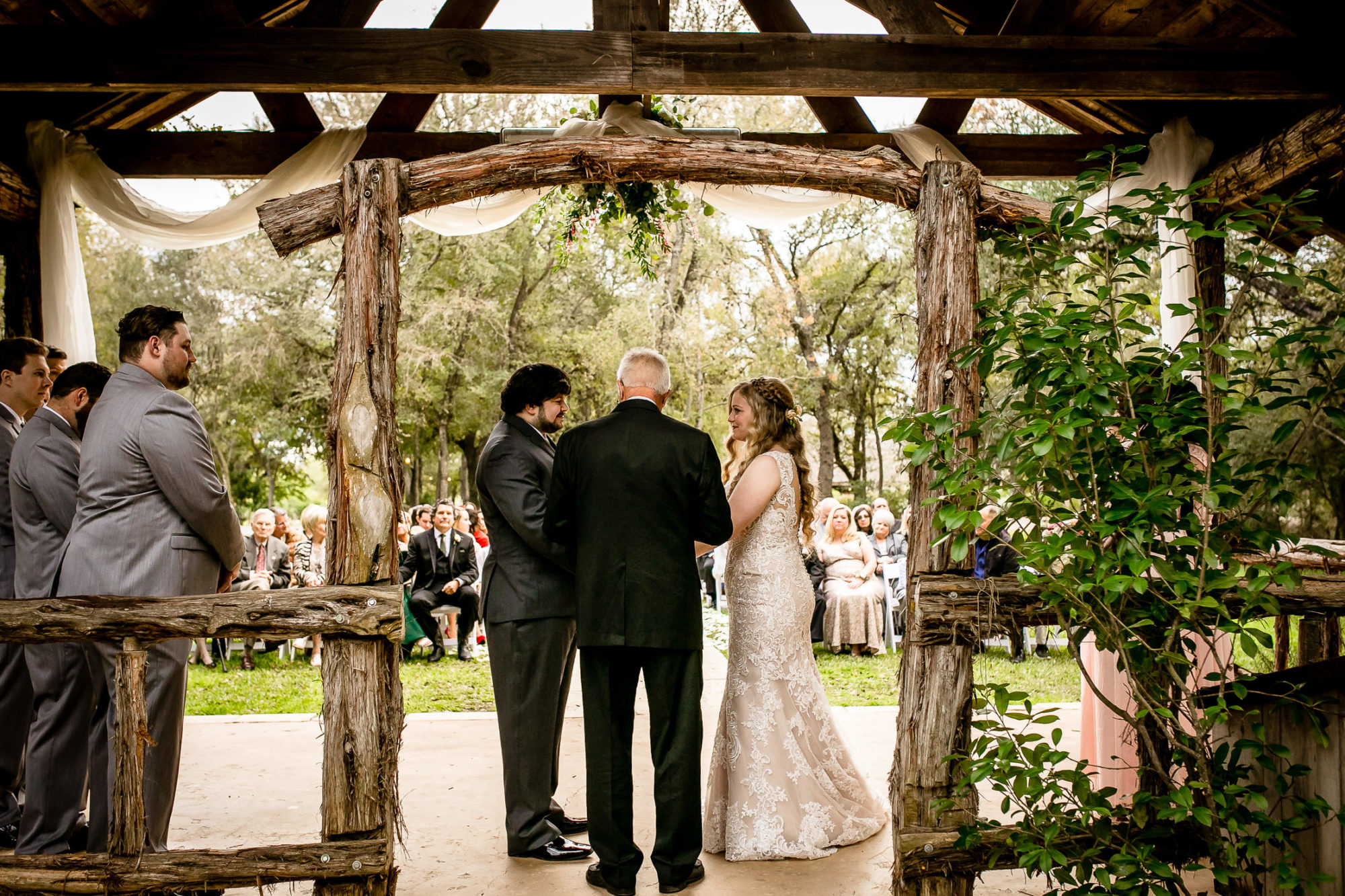Texas Old Town Wedding
