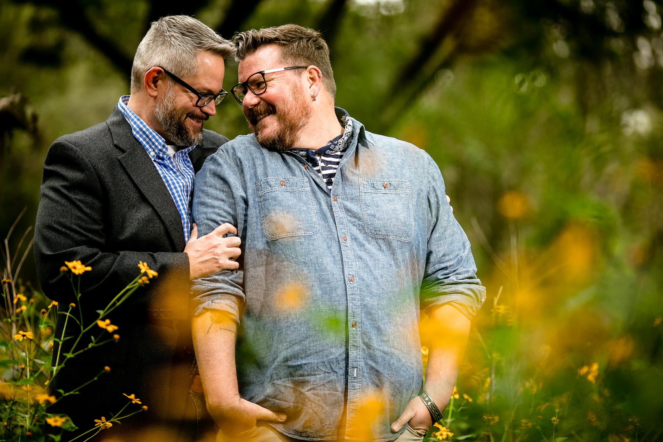 Chris & Adam // LGBT engagement photographer