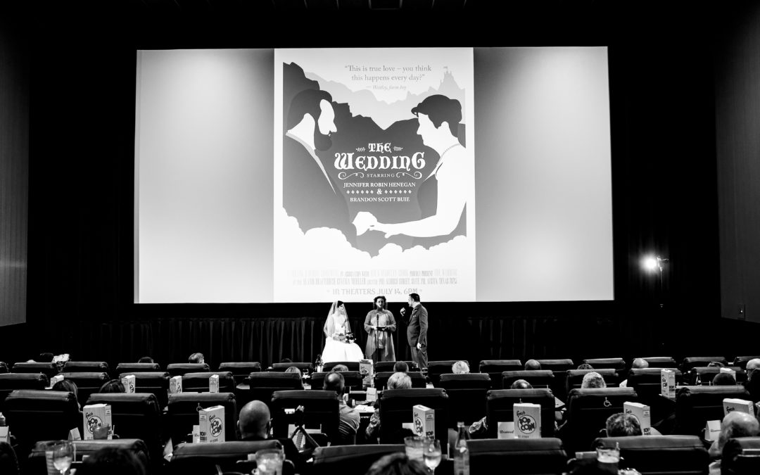 Have your wedding at The Alamo Drafthouse