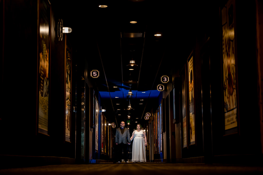 Alamo Drafthouse Wedding