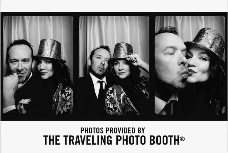 award-winning Austin wedding photo booth