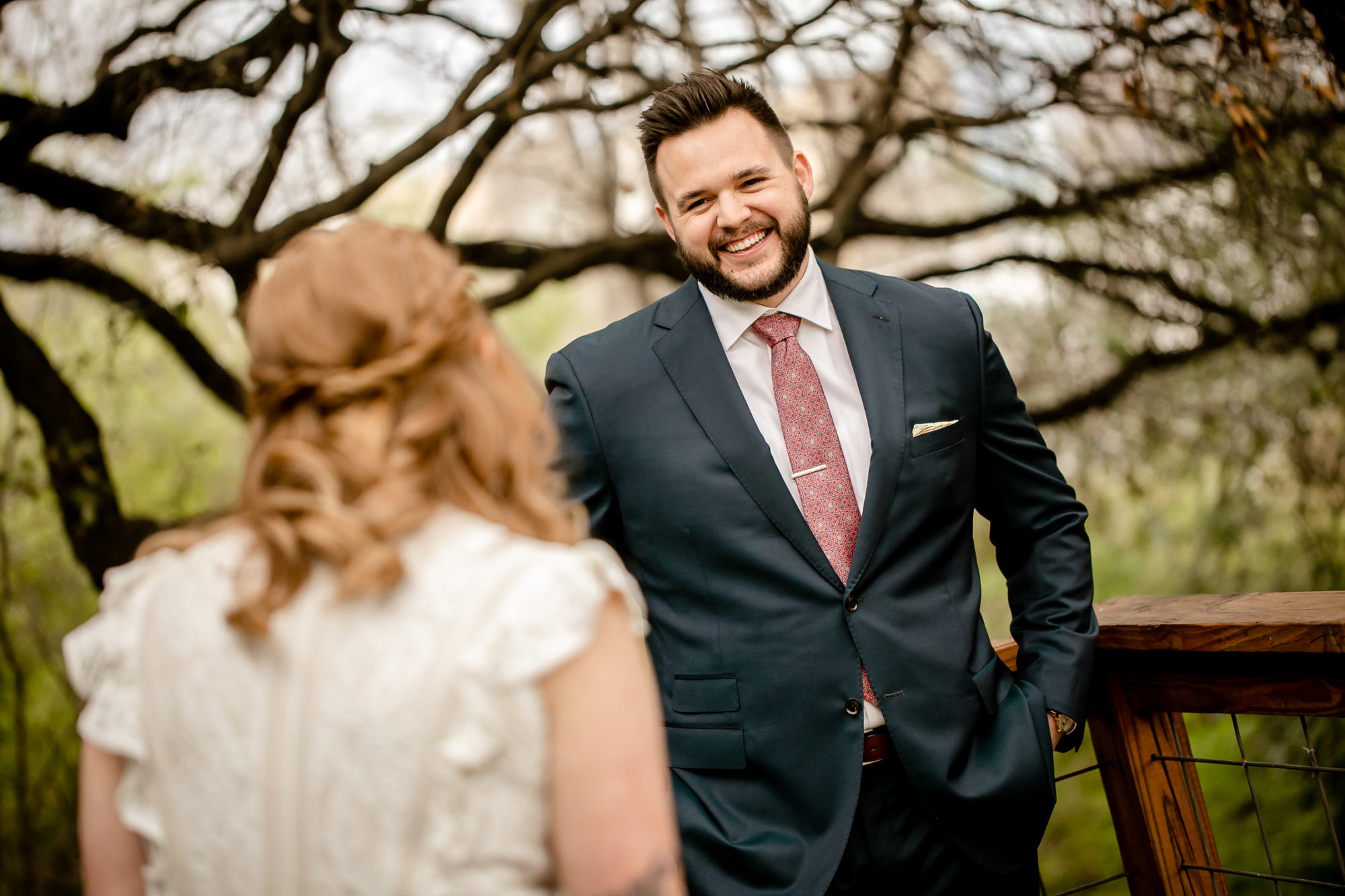 wedding First look benefits