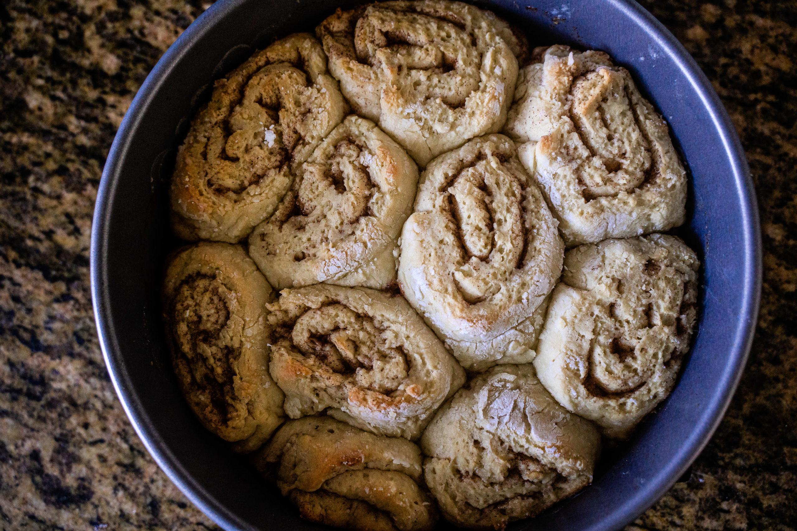 Gluten Free Dairy Free Cinnamon Buns