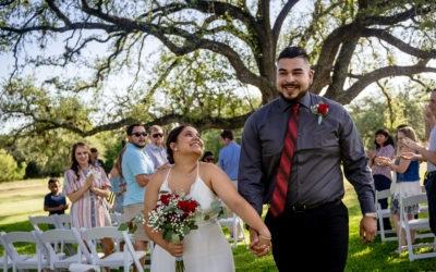 Lisa and Rafael's Wedding, Take One