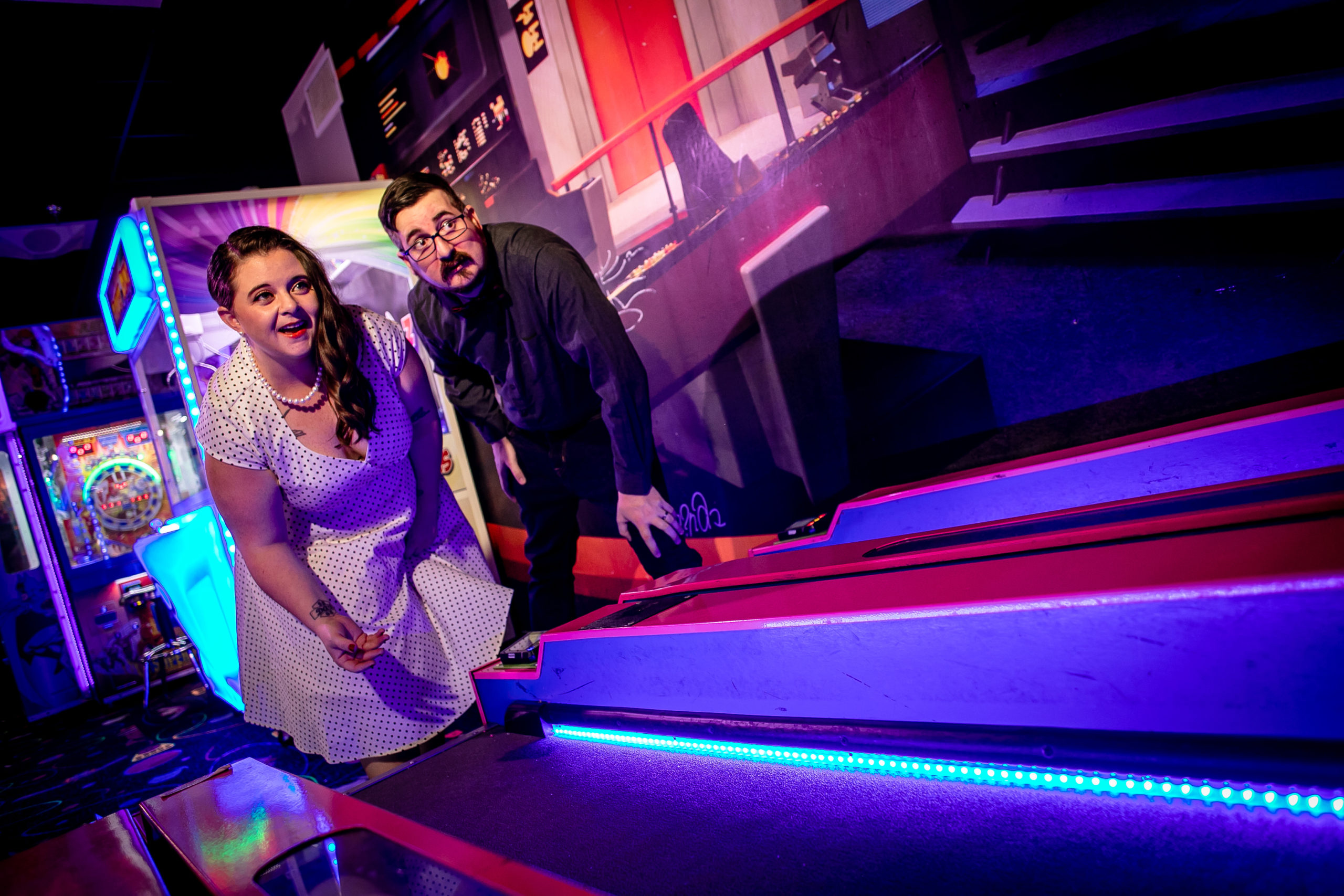 Pinballz Arcade Wedding