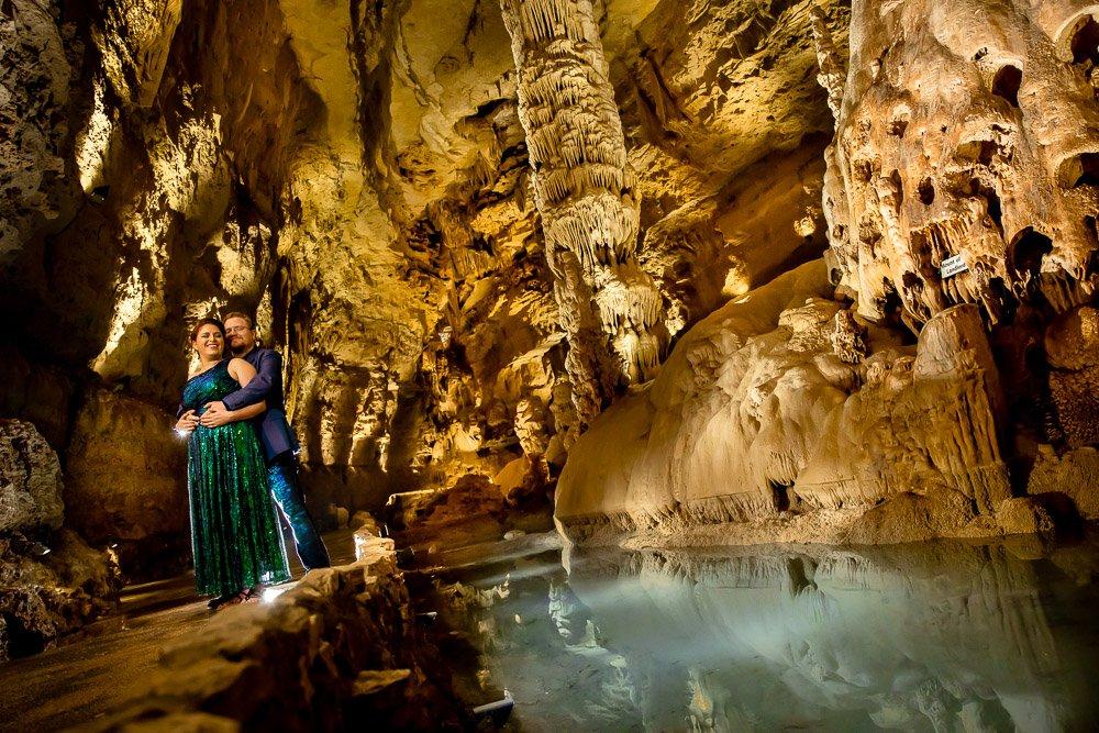 Cavern Engagement Portraits