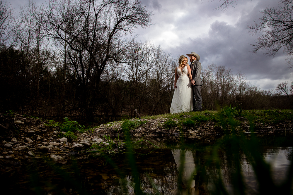 Kayla & Hunter // Round Rock Wedding Venue