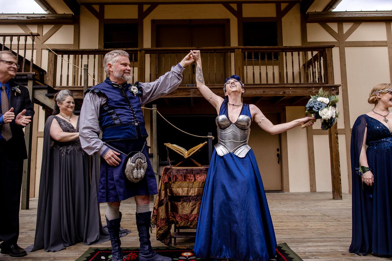Medieval Wedding in Austin