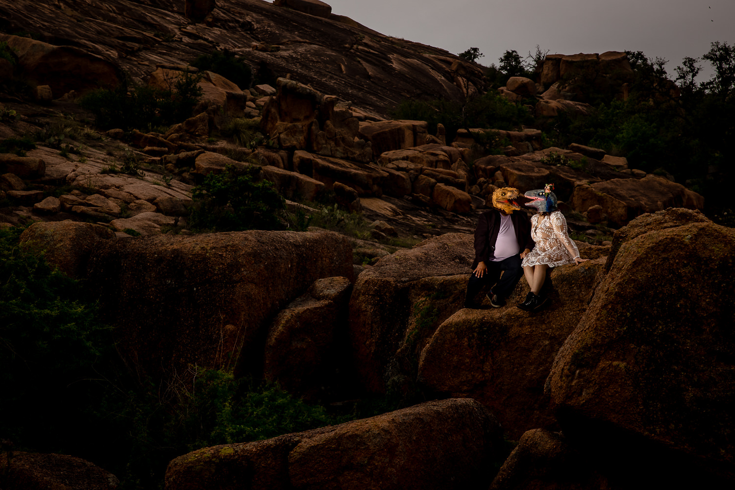 Enchanted Rock State Park Engagement Session